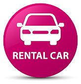 Rental car pink round button