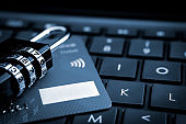 Internet payments, secure online shopping and data encryption security