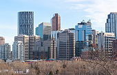 Cityscape view of Calgary DownTown.