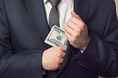 Taking bribery money
