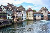 Beautiful downtown of Strasbourg