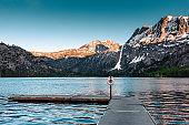 silver lake in california yosemite national park