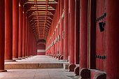 Jongmyo Shrine, Korea.