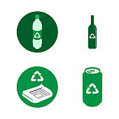 Recyclable icons