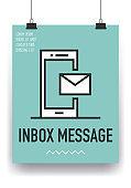 Inbox Message Line Icon