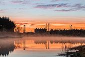Foxton Water Park Sunrise