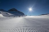 Winter sports background.