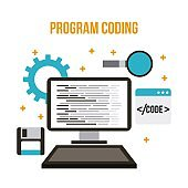 program coding wed software development languages process