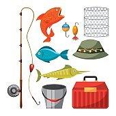 Necessary fishing objects