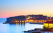 Dubrovnik at sundown