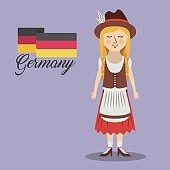 woman germany culture avatar