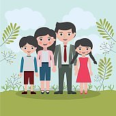 Family relationship portrait design