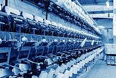 Textile mill workshop