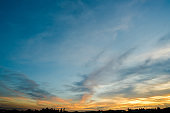 sky sunset background,clouds with background.