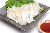 Tubu shell sashimi