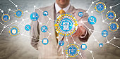 Data Manager Performing Edge Computing Via IoT