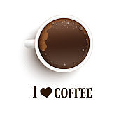 I love coffee. An appointment with a cup of coffee