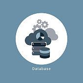Data base concept-illustration
