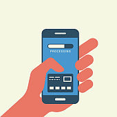 Mobile payment - Illustration