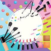 cosmetics  colorful
