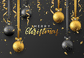 Christmas greeting card, poster, banner.