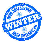 New collection winter rubber stamp clothes and shoes