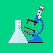 Scientific experiment concept