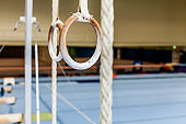 Gymnastic Rings in an Empty Gym