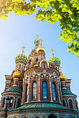 Cathedral of Our Savior on Spilled Blood in St Petersburg
