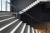 Stairs in new interior