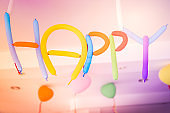 Colorful Balloons for childrens Happy Celebration Party