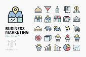 Business Marketing icon set 2