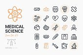 Medical Science Icon Set 5