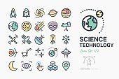 Science & Technology icon set 1