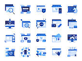 Color icon set