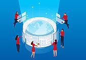 Global network development