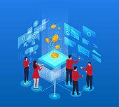 Business finance technology work