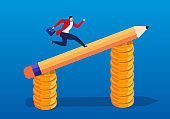 Ideas make businessmen earn more money