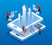 Isometric business growth