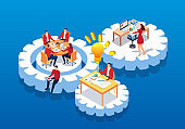 Isometric gears and team work