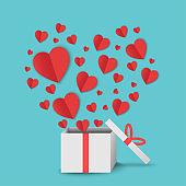 love valentine day background