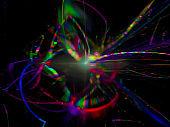 abstract design, digital beautiful fractal, magic