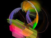 fractal digital abstract beautiful design