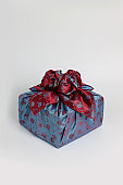 Korean traditional gift packaging, Korean New Year's Day, Thanksgiving, gift, gift box, gift wrap