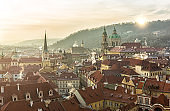 Old Town Prague at sunset