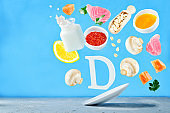 Flying foods rich in vitamin d