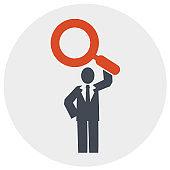 Search Engine Optimization, Online statistics, data analytics vector - Illustration