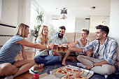 Group of friends enjoying time together