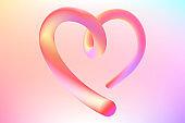 3d heart illustration