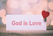 God is Love Concept